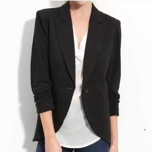 Gibson Black Blazer with 3/4 Sleeves